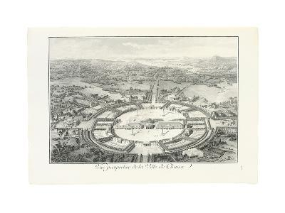 Perspective View of the City of Chaux, 1804