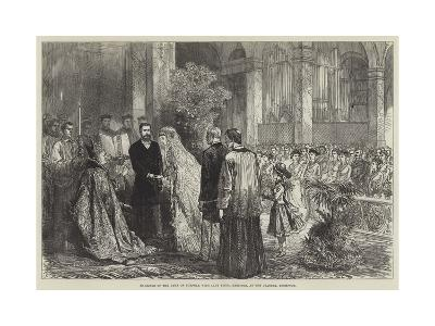 Marriage of the Duke of Norfolk with Lady Flora Hastings, at the Oratory, Brompton