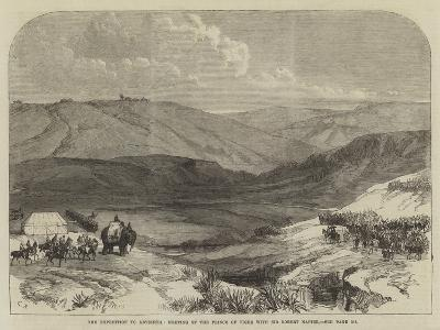The Expedition to Abyssinia, Meeting of the Prince of Tigre with Sir Robert Napier