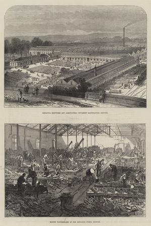 The Britannia Works in Bedford