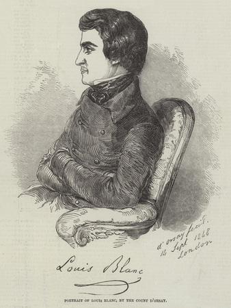 Portrait of Louis Blanc