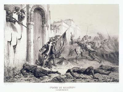 Ponce De Balagner at the Bab-Azoun Gate