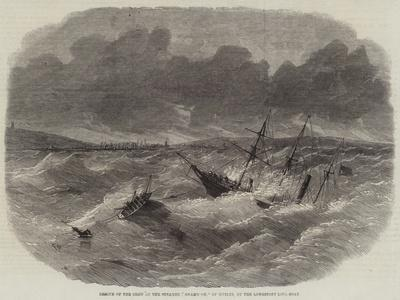 Rescue of the Crew of the Steamer Shamrock, of Dublin, by the Lowestoft Life-Boat