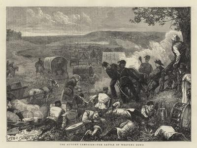The Autumn Campaign, the Battle of Weaver's Down