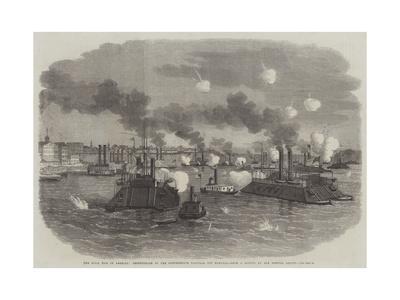 The Civil War in America, Destruction of the Confederate Flotilla Off Memphis