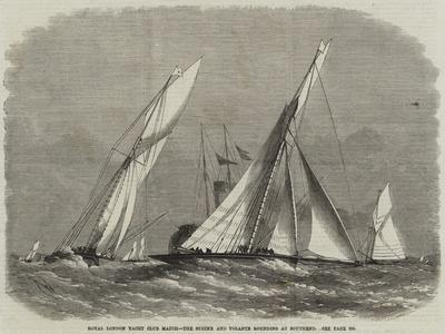 Royal London Yacht Club Match, the Sphinx and Volante Rounding at Southend