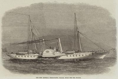 The New Imperial Steam-Yacht, Taliah, Built for the Sultan