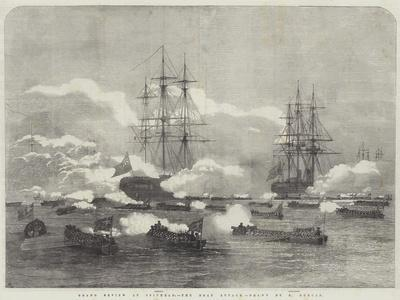 Grand Review at Spithead, the Boat Attack