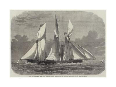 The Royal Thames Yacht Club Schooner-Match, the Xantha and Gloriana Rounding at the Nore