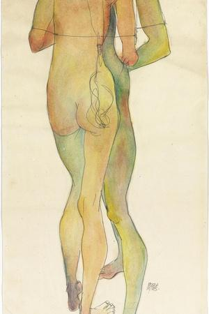 Two Standing Nudes, 1913