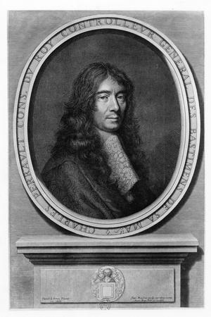 Portrait of Charles Perrault