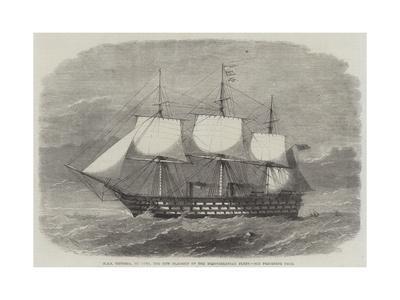 HMS Victoria, 102 Guns, the New Flagship of the Mediterranean Fleet