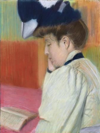 Woman Reading; Femme Lisant, C. 1890
