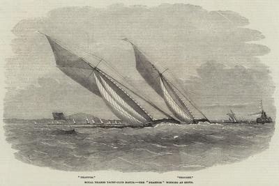 Royal Thames Yacht-Club Match, the Phantom Winning at Erith