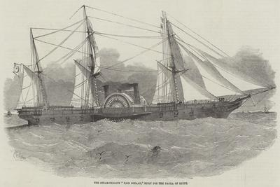 The Steam-Frigate Faid Gihaad, Built for the Pacha of Egypt