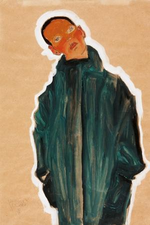 Boy in Green Coat, 1910