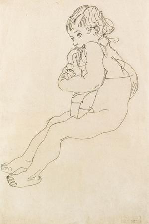 Seated Child, 1916