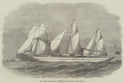 The Screw Steam-Ship Viceroy for the Suez Canal Traffic