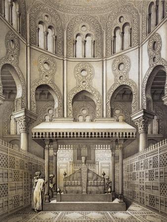 Tomb of Sultan Qalaum (14th Century) in Cairo