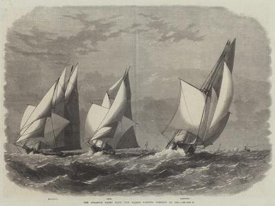The Atlantic Yacht Race, the Yachts Parting Company at Sea