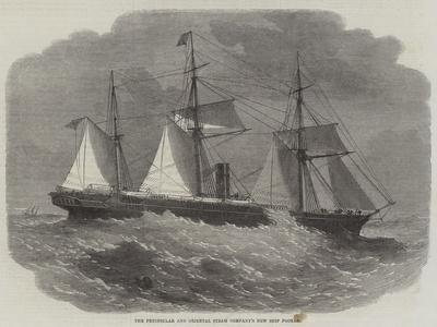 The Peninsular and Oriental Steam Company's New Ship Poonah