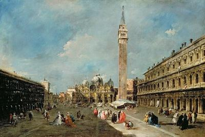 Piazza San Marco, Venice, C.1775-80