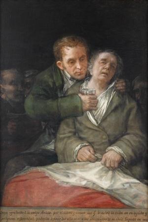 Self-Portrait with Dr. Arrieta, 1820