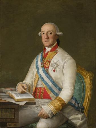Vicente Maria De Vera De Aragon, Duque De La Roca, C.1795