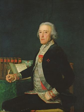 Portrait of Felix Colon De Larriategui, 1794