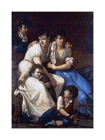 Portrait of the Painter's Family, 1807