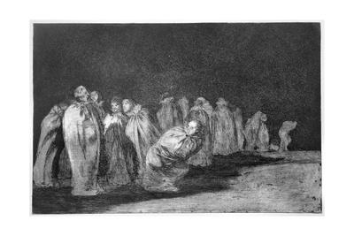 The Men in Sacks, Plate 8 of 'Proverbs', 1819-23, Pub. 1864