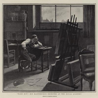 Hard-Hit! His Masterpiece Rejected at the Royal Academy