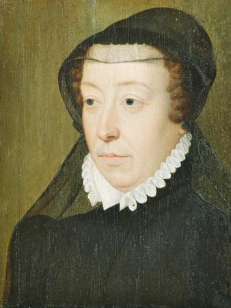 Portrait of Catherine De Medici (1519-89)