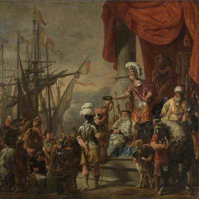 Aeneas at the Court of Latinus, C.1661-C.1664