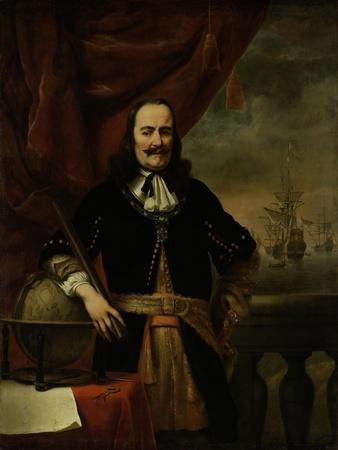 Michiel De Ruyter as Lieutenant-Admiral, 1667