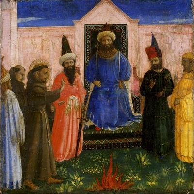 The Trial by Fire of St. Francis before the Sultan, C.1435-40