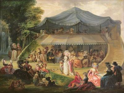 Fete at Colisee Near Lille, C.1791