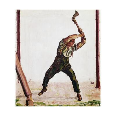 Woodcutter, 1910