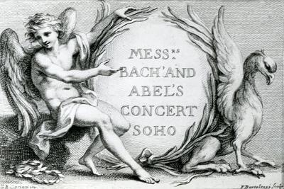 Bach and Abel's Concert Soho, 1870