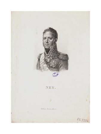 Portrait of Marshal Michel Ney, 1814