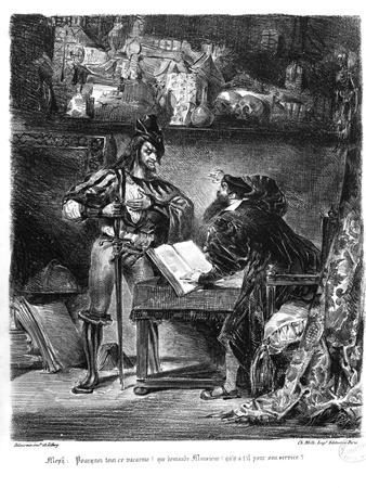 First Meeting Between Faust and Mephistopheles: `Why All This Noise?'