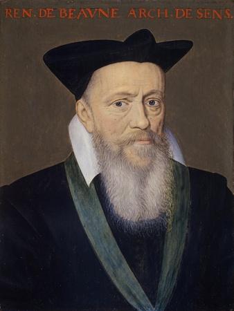 Renault De Beaune, Archbishop of Bourges (Panel)