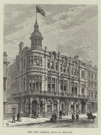The New Liberal Club at Belfast