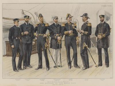 The Officers of the Royal Navy