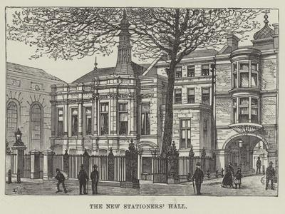 The New Stationers' Hall
