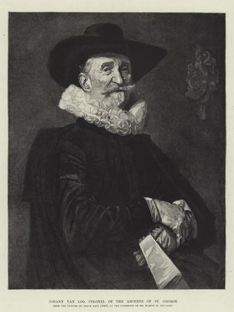 Johann Van Loo, Colonel of the Archers of St George