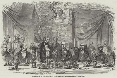 The Banquet to Vice-Admiral Sir Charles Napier, at the Reform Club, Pall-Mall