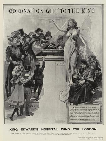 Advertisement, King Edward's Hospital Fund for London