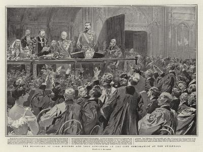 The Reception of Lord Roberts and Lord Kitchener by the City Corporation at the Guildhall