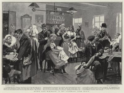 Human Hair Merchants in the Spreewald, Near Berlin